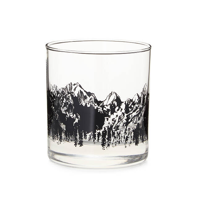 On the Rock-ies Whiskey Glass