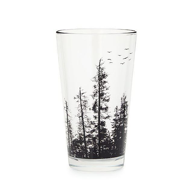 Pine Forest Pint Glass