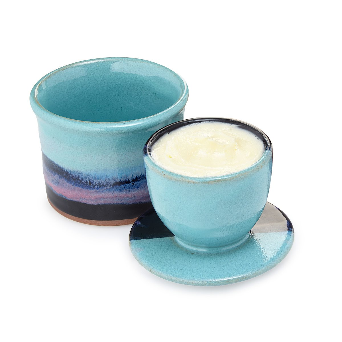 Stoneware Spreadable Butter Keeper | Handmade Kitchen Housewares ...
