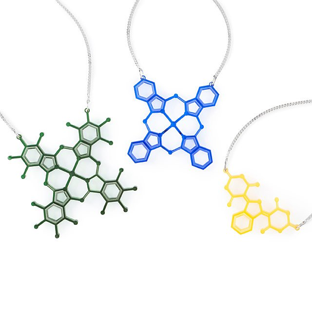 Pigment Molecule Necklaces