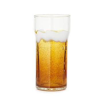 Foam Blown Beer Glass