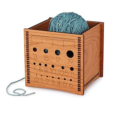 Wooden Yarn Box