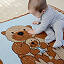 Cuddling Otters Baby Blanket 3 thumbnail
