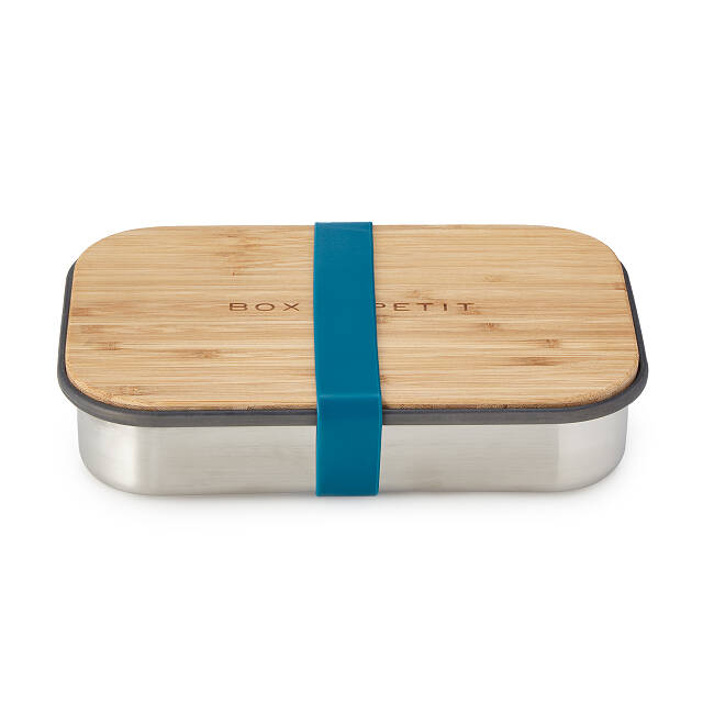 Lunch Box with Cutting Board Lid