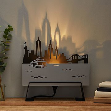 City Skyline Lamp