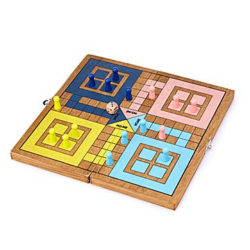 Wooden Pachisi Set