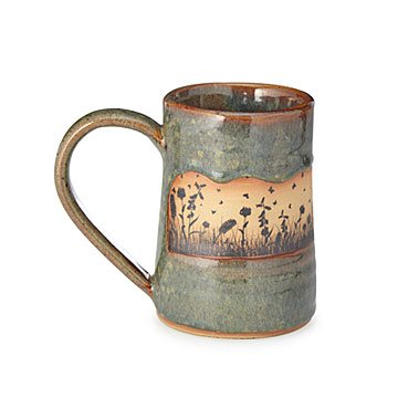 Butterfly Fields Morning Tankard