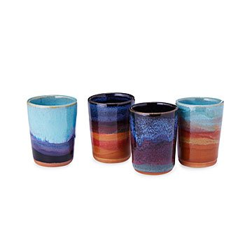 Desert Horizons Shot Glass - Set of 4