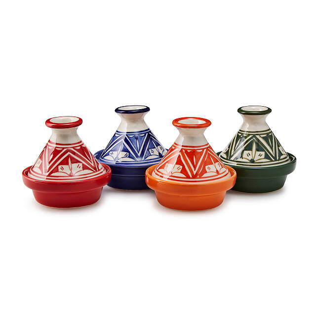 Herb & Spice Pinch Pots - Set of 4