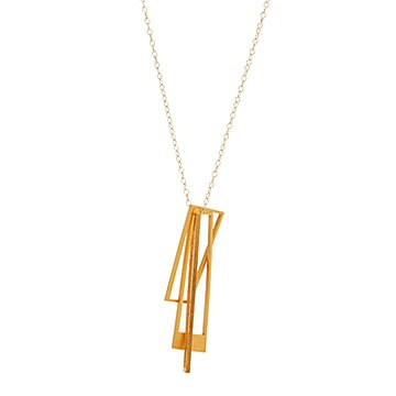 Shape Shifter Modernist Necklace