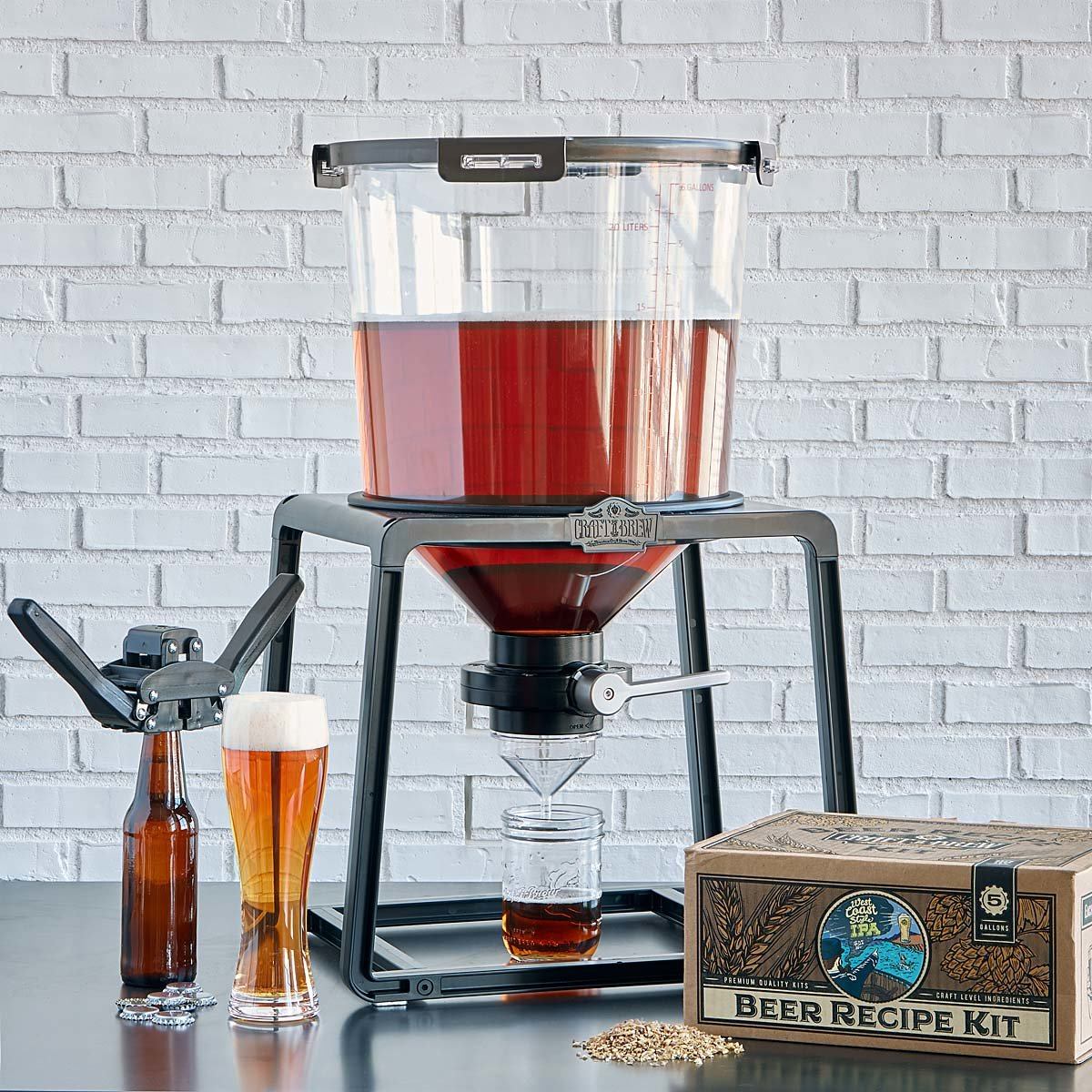 Ultimate Homebrewer's Kit | Home beer brewing kit, Home