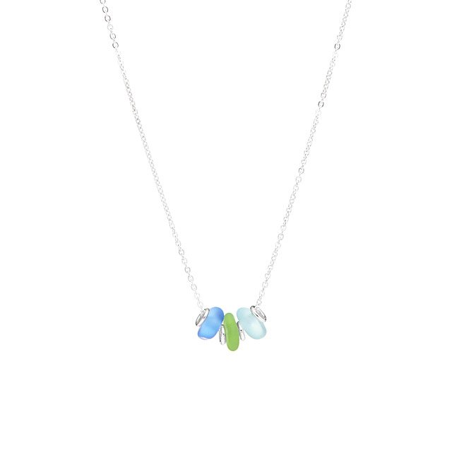 Tropical Sea Glass Necklace