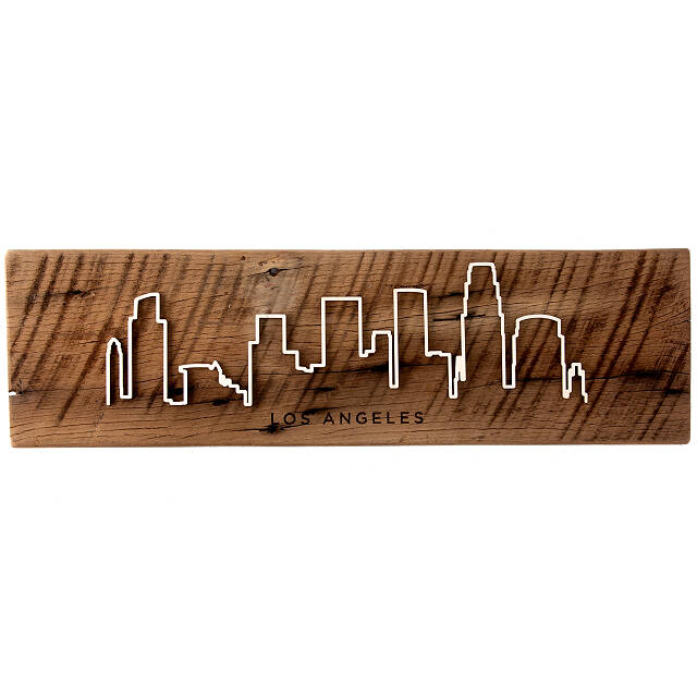 Reclaimed Wood Cityscape