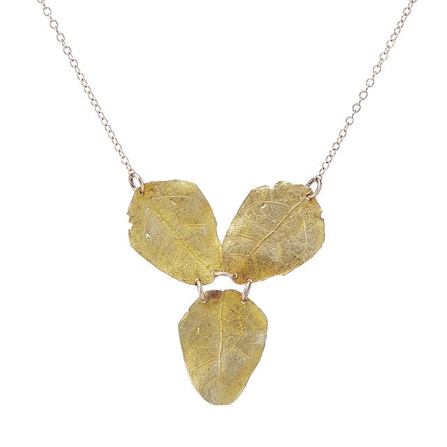 Golden Autumn Necklace