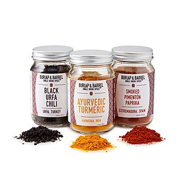 Chef's Treasure Spice Trio