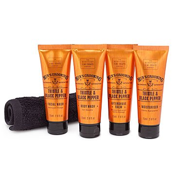 Men's Black Pepper Shaving Kit