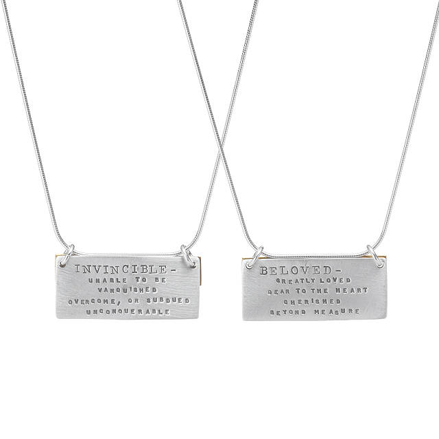 Inspirational Definition Necklaces