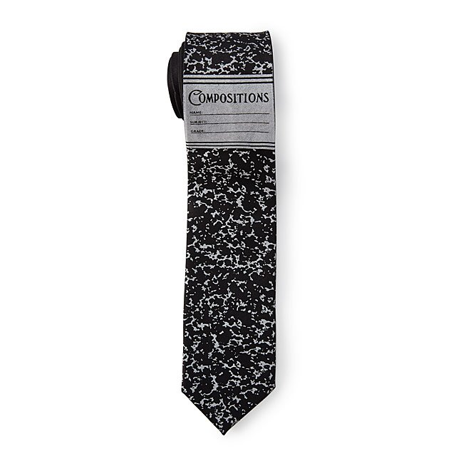 Vintage Composition Notebook Necktie