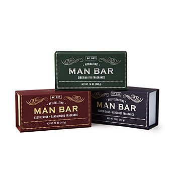 Man Bar Soap Set of 3