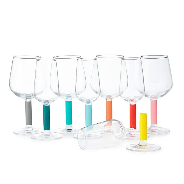 Pick & Click Easy Clean Wine Glasses