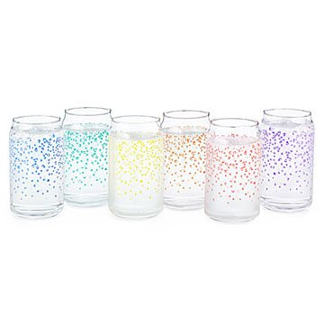 Sparkling Water Glasses