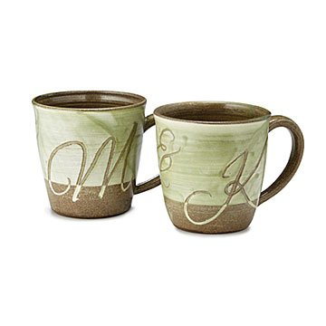 Couple's Monogram Mugs