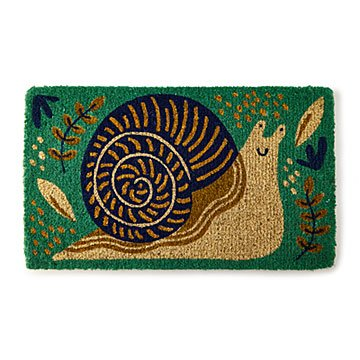 008e7f914 Flip Flop Flamingo.  40.00. Sammy the Snail Doormat
