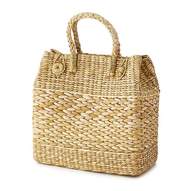 Kauna Grass Handwoven Basket Bag
