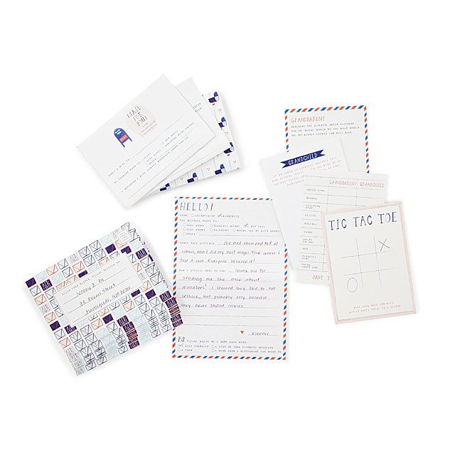 Grandparent Pen Pal Set | Letters from Grandparent and Grandchild