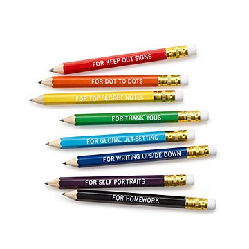 Pencils for All Occasions