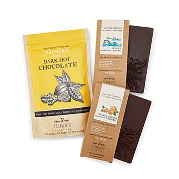 Chocolate & Cocoa Turmeric Trio