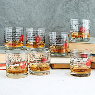Founding Fathers Whiskey Glasses