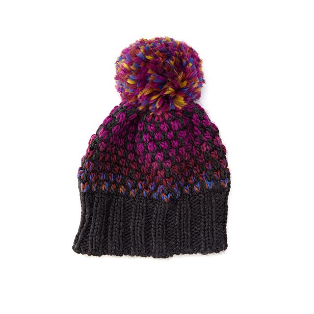 Cosmic Spacedye Pom Hat