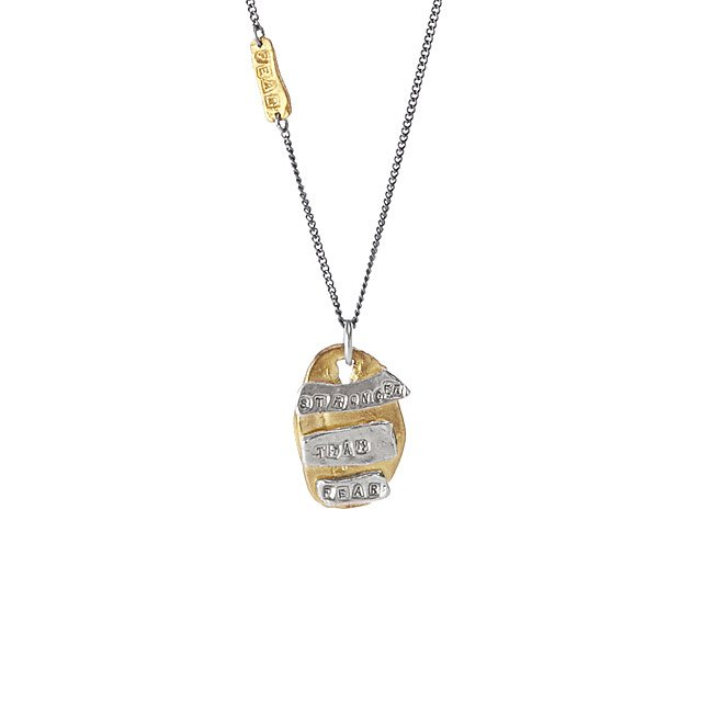 Stronger Than Fear Necklace