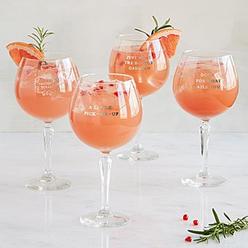 OriGINal Remedy Gin Glasses