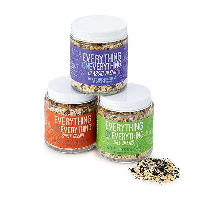 everything-bagel-seasoning-trio by uncommon-goods