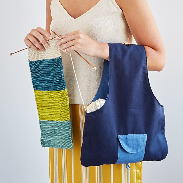 Travel Knitting Bag