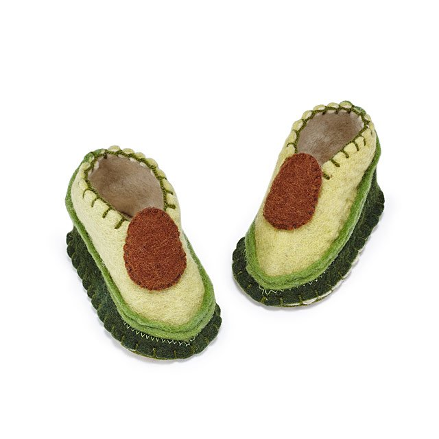 Avocado Booties