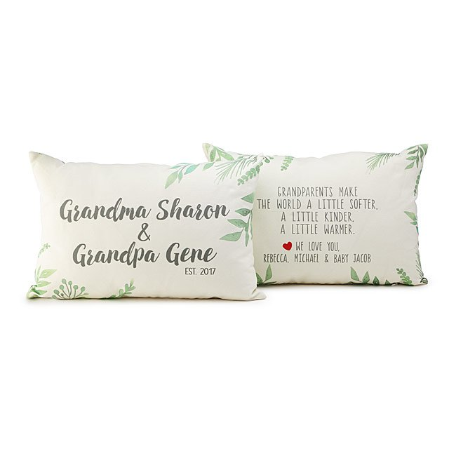 First Time Grandparent Pillow