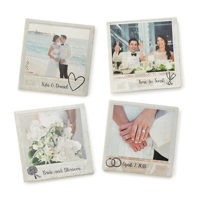 Forever Together Photo Coasters
