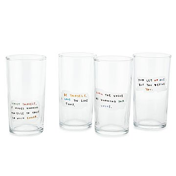 Cheers to You Glasses- Set of 4