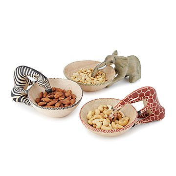 Safari Snack Bowls