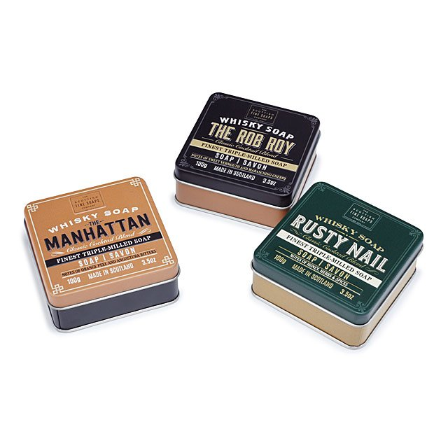Notes of Whiskey Soaps