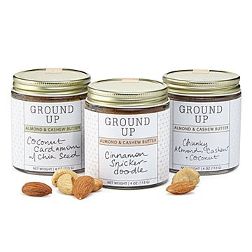 Almond & Cashew Butter Trio