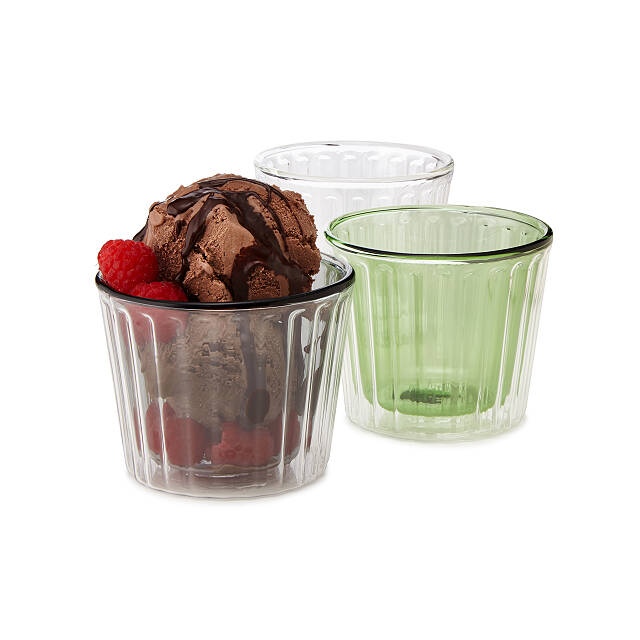 Insulated Ice Cream Cups - Set of 2