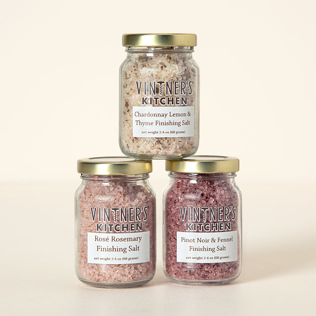 Wine-Infused Salts