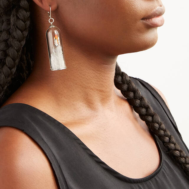 Shuttle Rocket Earrings
