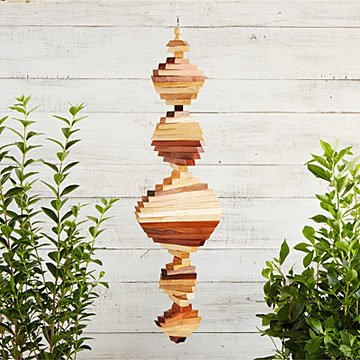 Helix Hardwood Wind Spinner