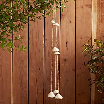 Ceramic Sea Shell Chimes