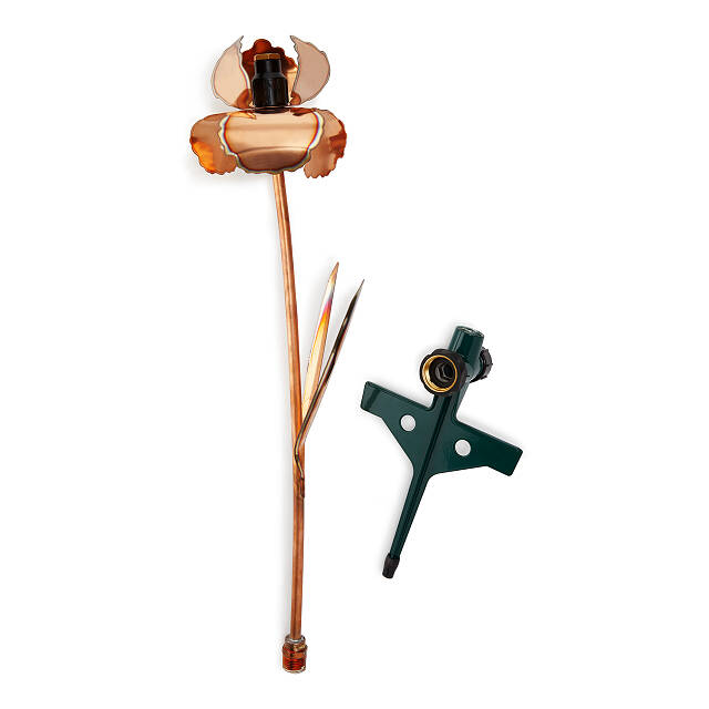 Copper Iris Sprinkler